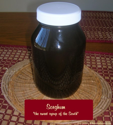 Sorghum-Sweet Syrup of the South