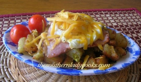 Fried Potato Breakfast Bowl The Southern Lady Cooks