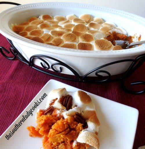 Baked Sweet Potato Casserole The Southern Lady Cooks