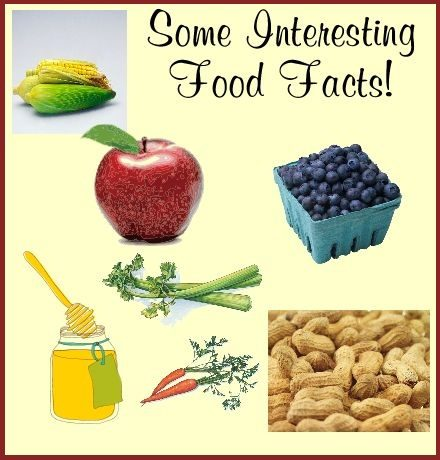 Some Interesting Food Facts