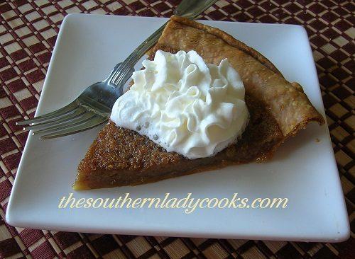 Brown Sugar Pie - TSLC