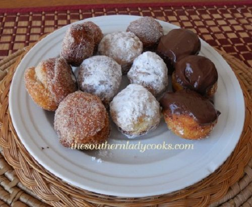Easy Homemade Donut Holes - TSLC