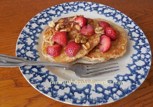 Four Grain Pancakes - TSLC