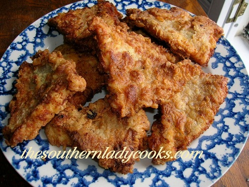 Fried Catfish Fillets - TSLC