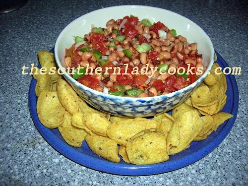 Southern Caviar or Blackeyed Pea Dip - TSLC