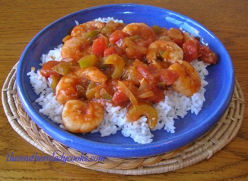 Spicy Shrimp Creole