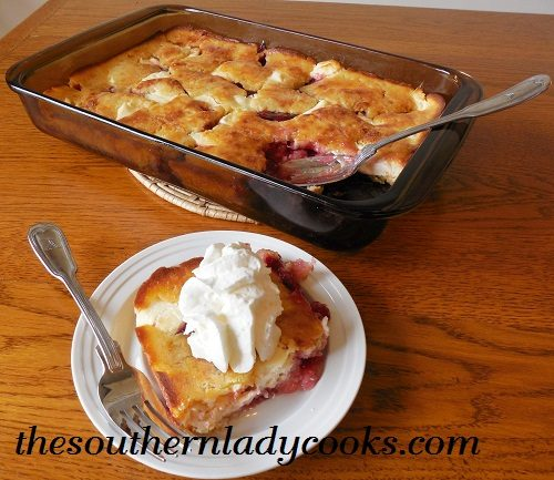 Cherry Cream Cheese Cobbler TSLC