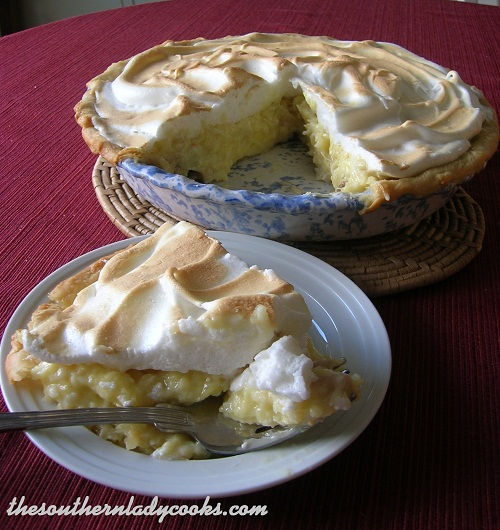 Pineapple Coconut Cream Pie TSLC
