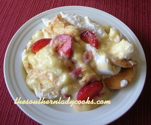 Strawberry Pudding TSLC