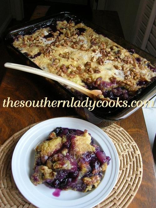 Yummy Blueberry Dump Cake - TSLC