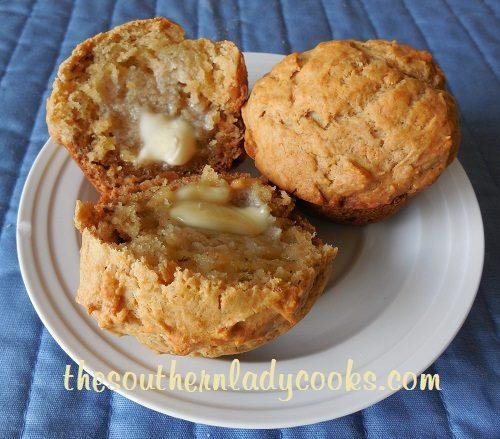Peanut Butter and Banana Muffins - TSLC