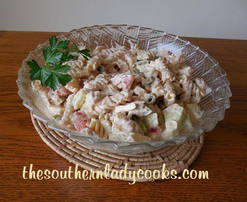 Tuna Pasta Salad - TSLC