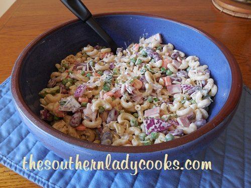 Ham and Bean Pasta Salad TSLC