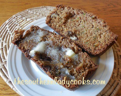 Zucchini Bread - TSLC