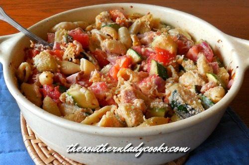 Zucchini Pasta Casserole