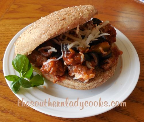 Italian Sausage and Manwich Skillet Meal TSLC