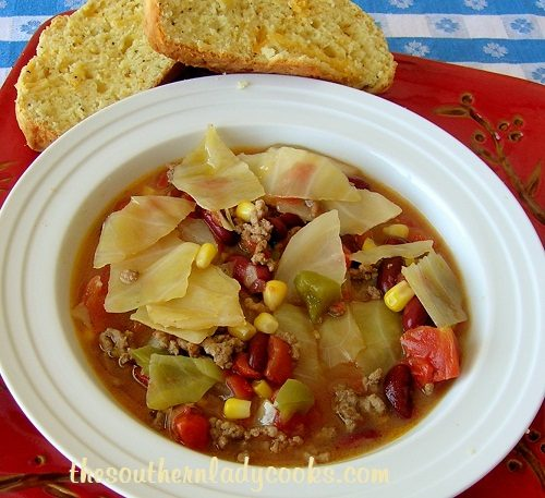 Cabbage Fiesta Soup - Copy