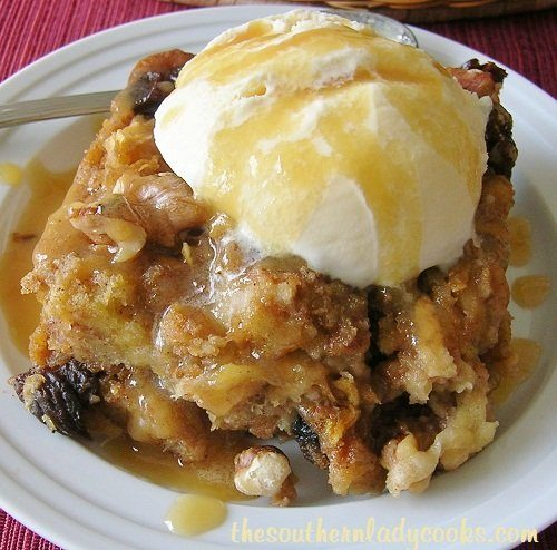 Nutty Apple Bread Pudding - Copy