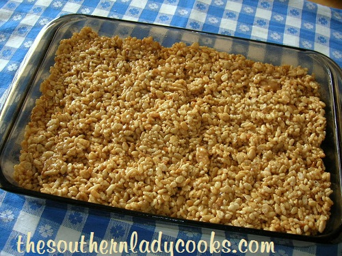 Peanut Butter Crispy Treats - Copy