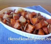 CROCK POT SWEET POTATOES, PINEAPPLE AND CRANBERRIES