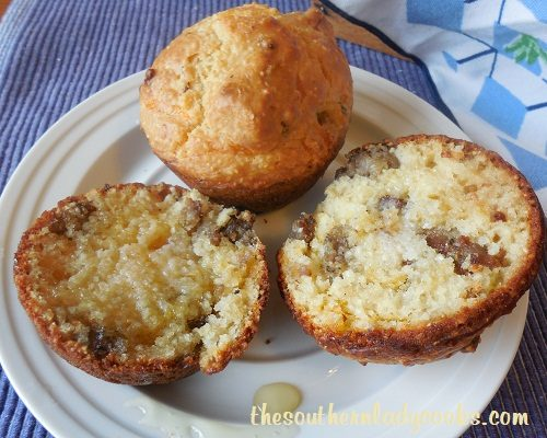 Sausage Cheese Grits Muffins - TSLC