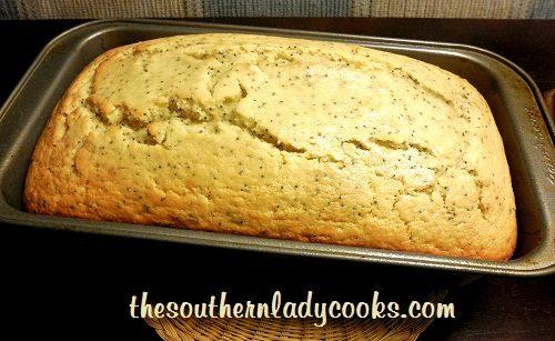 Poppy Seed Bread - TSLC