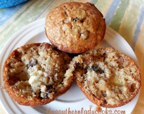 Banana Oatmeal Muffins - TSLC - Copy - Copy