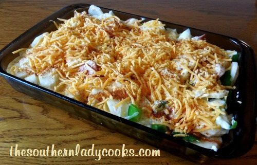 Cheesy Scalloped Potatoes and Sausage2 - TSLC