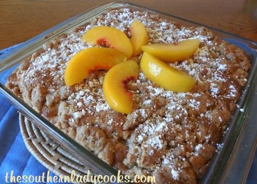 Peach Crumb Cake - Copy