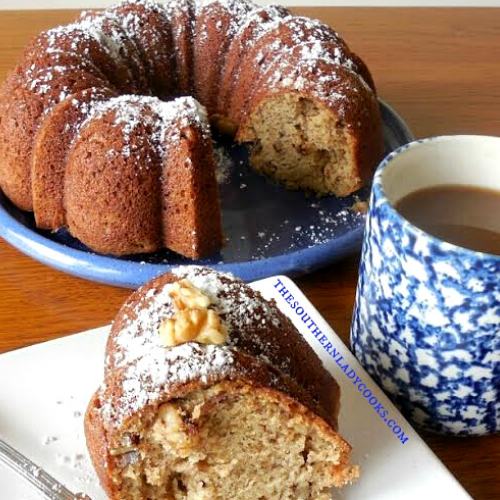 Sour Cream Banana Cake - The Southern Lady Cooks