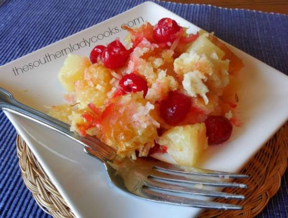 TSLCIronSkilletPineappleCobbler2