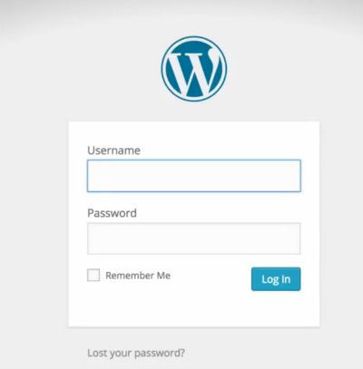 Wordpresslogin