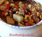 DELICIOUS SAUSAGE BEAN SOUP