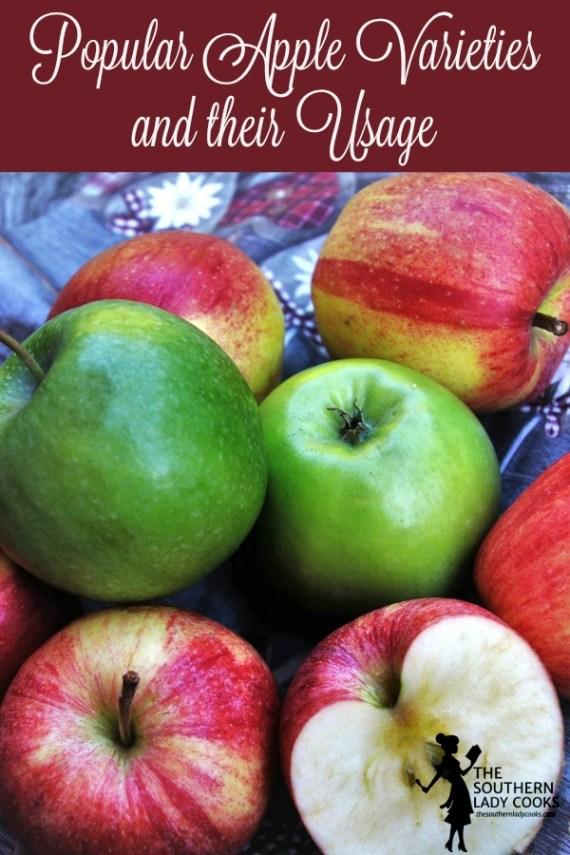Popular Apple Varieties and their Usage