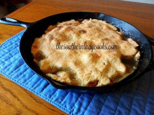 Sweet Potato Cobbler The Southern Lady Cooks