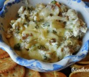 SAUSAGE SPINACH DIP