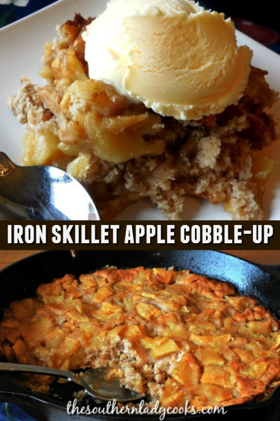 Apple Cobble-Up - The Southern Lady Cooks