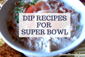 10 DIP RECIPES FOR YOUR SUPER BOWL PARTY