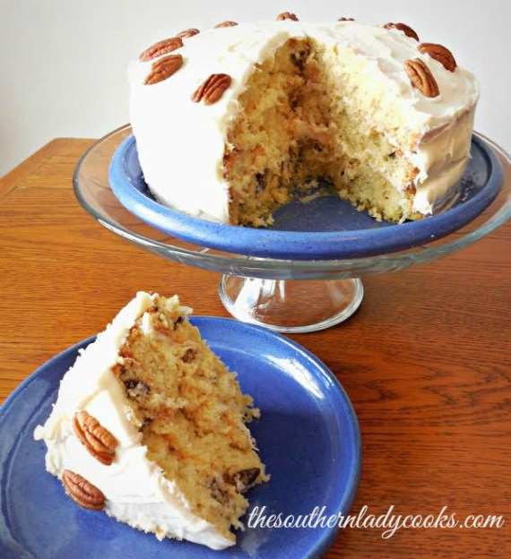 Italian Cream Cake - The Southern Lady Cooks
