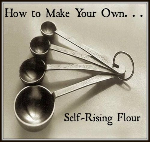 How to Make Your Own Self-Rising Flour