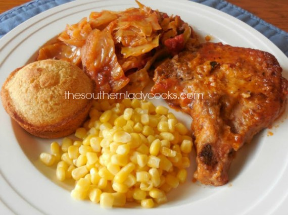 Pork Chops with Cabbage Crock Pot The Southern Lady Cooks