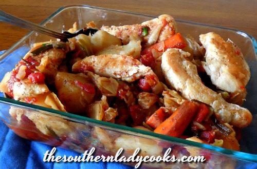 Crock Pot Chicken and Vegetables