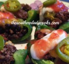 GREEN PEPPER NACHOS- LOW CARB
