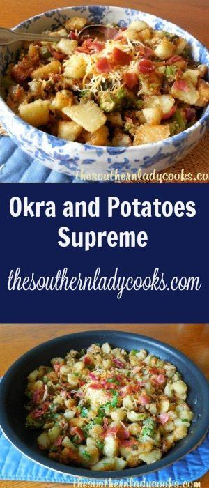 Okra and Potatoes Supreme