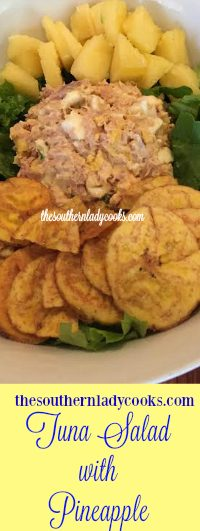 The Southern Lady Cooks Tuna Salad with Pineapple Light Recipe