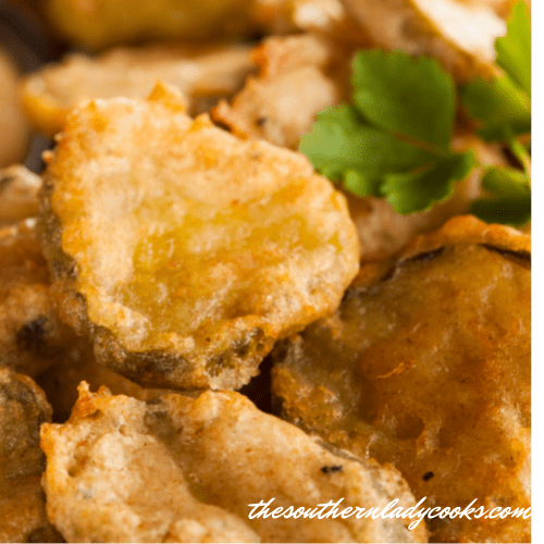 Fried Dill Pickles - The Southern Lady Cooks