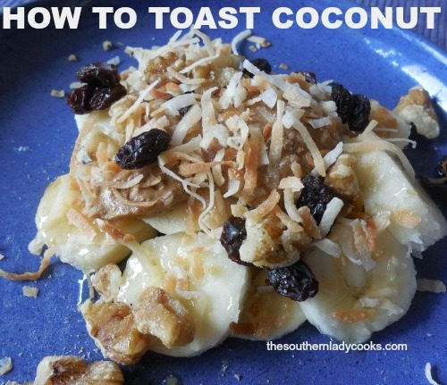 How to Toast Coconut4