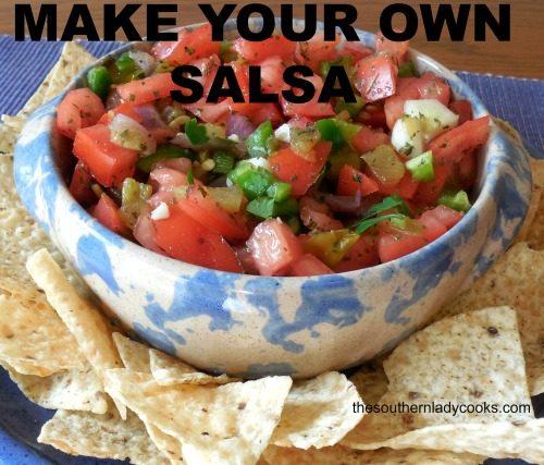 Make Your Own Salsa