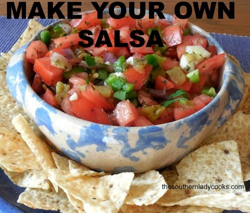 Make Your Own Salsa