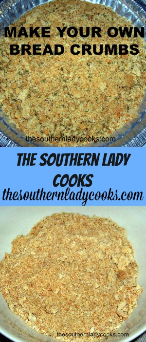Make Your Own Bread Crumbs